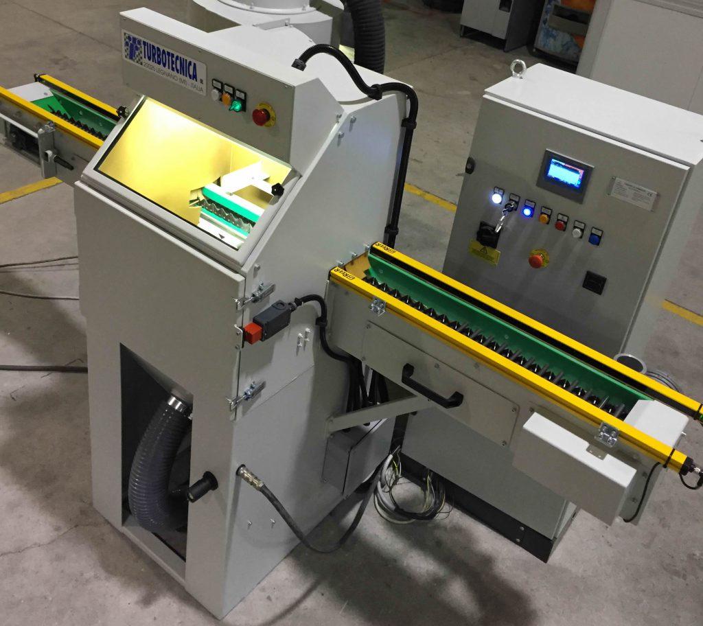 Example of Shot Peening Machines